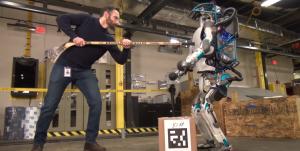 boston dynamics robot humain