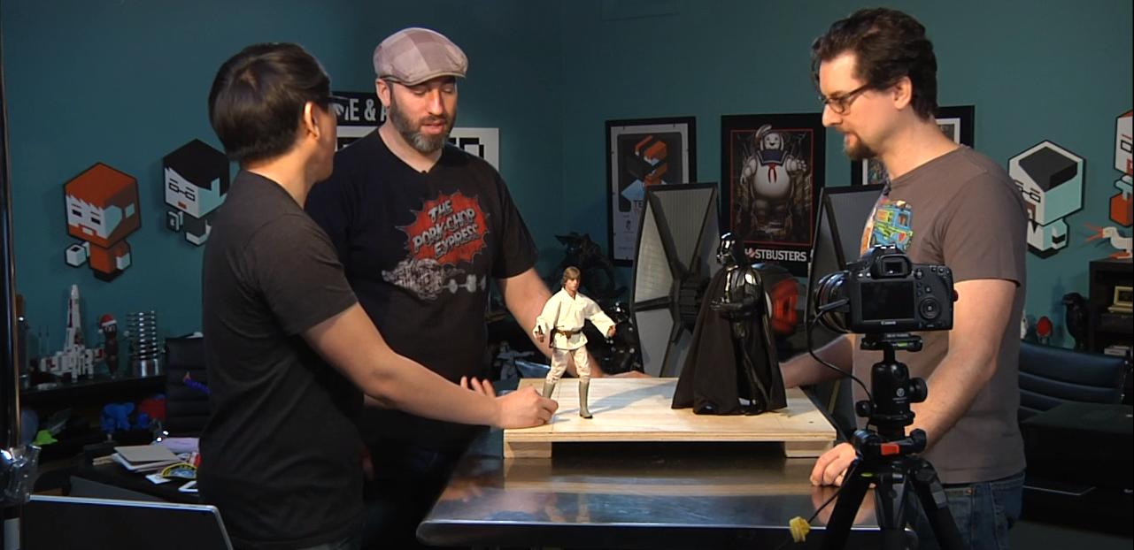 [Stop Motion] Star Wars : Le Pouvoir de la force.