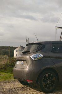 voiture électrique zoe moulin