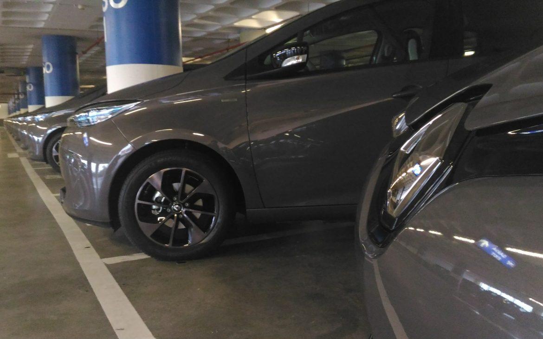voiture électrique zoe garage