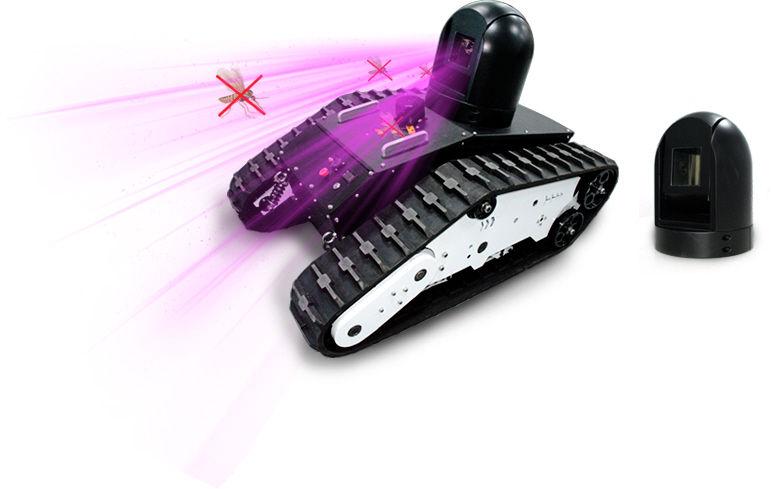 char tank anti moustique laser